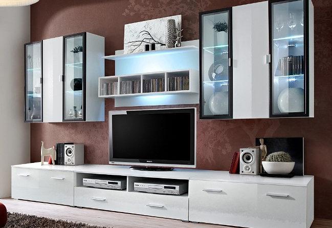 Obývacia stena Quadro 20 WS QU (s osvetlením)
