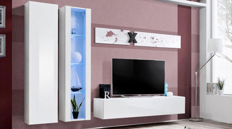 Obývacia stena AIR A 25 WW AI A4 (s osvetlením)