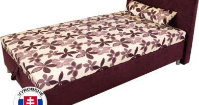 Manželská posteľ 140 cm - Benab - Elsona komfort (s roštom