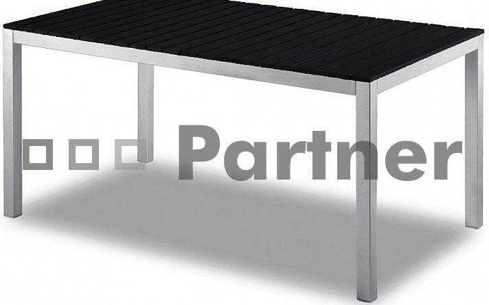 Záhradný stôl TD98191-AL-NE 120x90 cm (Kov)
