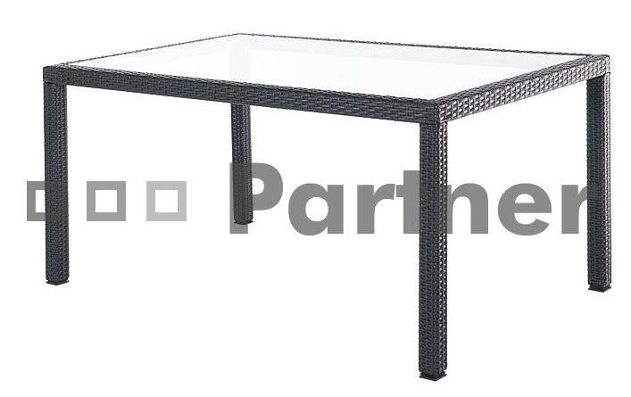 Záhradný stôl TSA 2 (um. Ratan)