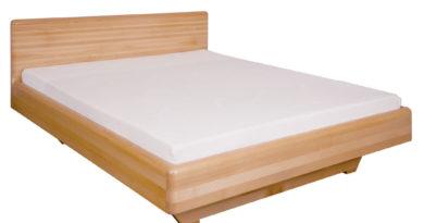 Manželská posteľ 200 cm LK 110 (buk) (masív)