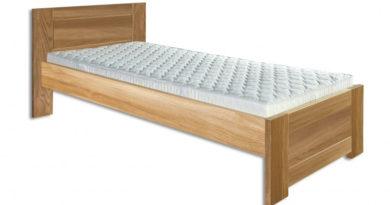 Jednolôžková posteľ 100 cm LK 261 (dub) (masív)