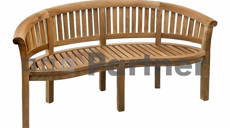 Záhradná lavička Omega (Teak)