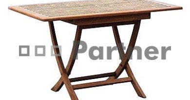 Záhradný stôl Smart 120 (Teak)