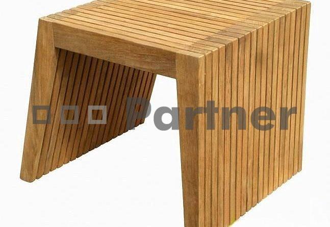 Záhradný stôl Wells 2 (Teak)