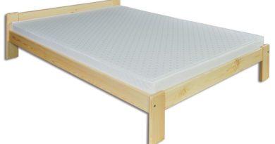 Manželská posteľ 160 cm LK 107 (masív)