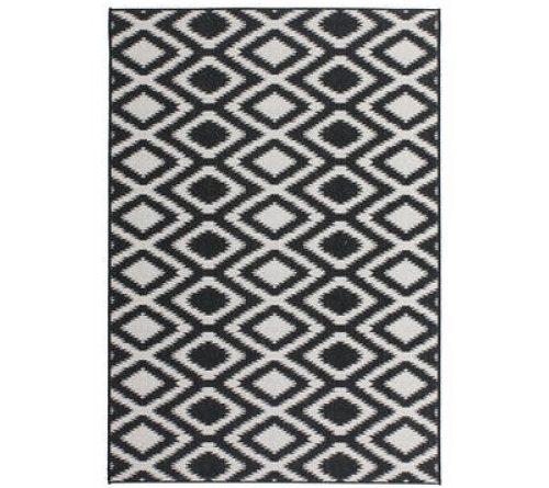 Kusový koberec Sunset 602 Black-White