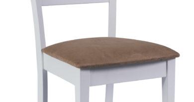 Jedálenská stolička CD-86 (béžová + biela)