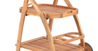 Záhradný servírovací stolík - Hecht - S Trolley (akácia)