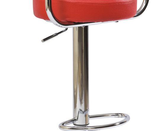 Barová stolička C-231 Krokus červená