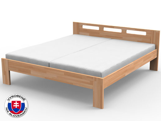Manželská posteľ 220x180 cm Nela (masív)