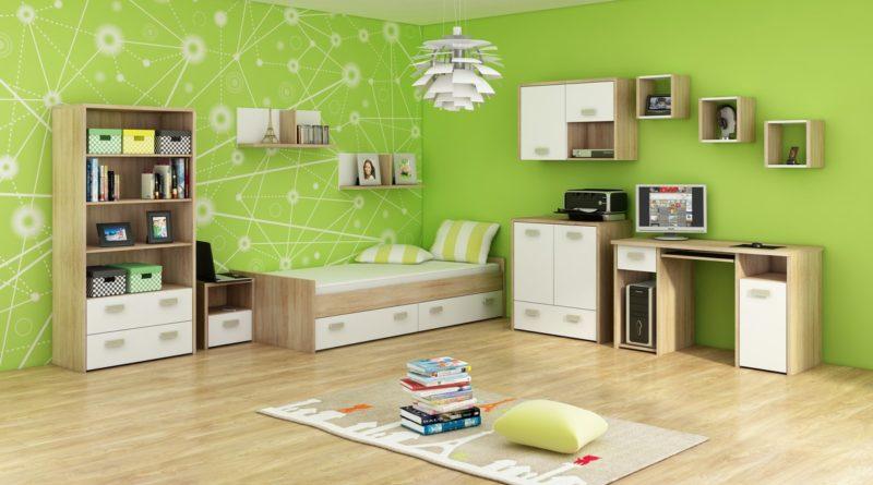 a1b00f2ef2e4 Študentská izba Kitty 3 Sonoma svetlá + biela