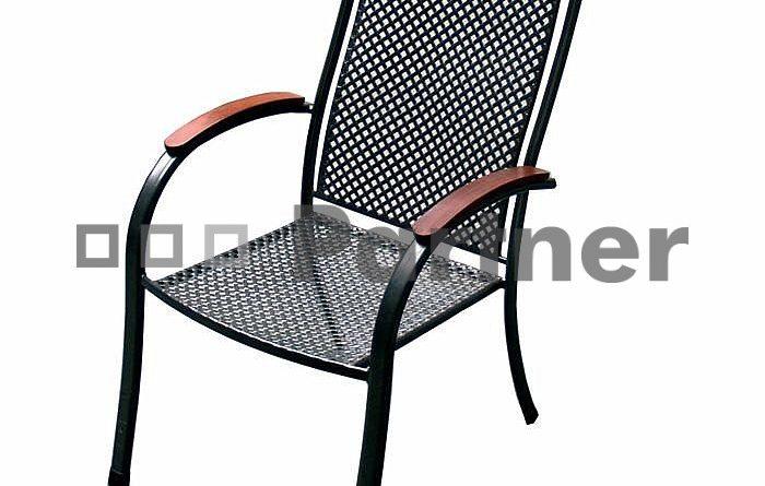 Záhradná stolička Monaco (kov)