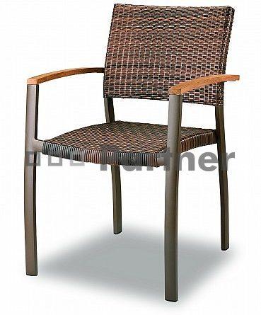 Záhradná stolička C88012-WK (Kov)