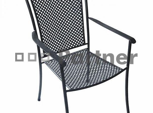 Záhradná stolička Nice (Kov)