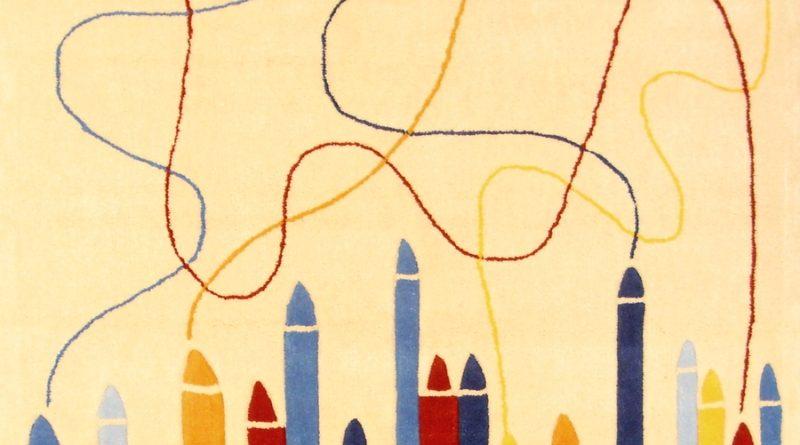 Ručne všívaný koberec (tuftovaný) - Bakero - Kids Pastels