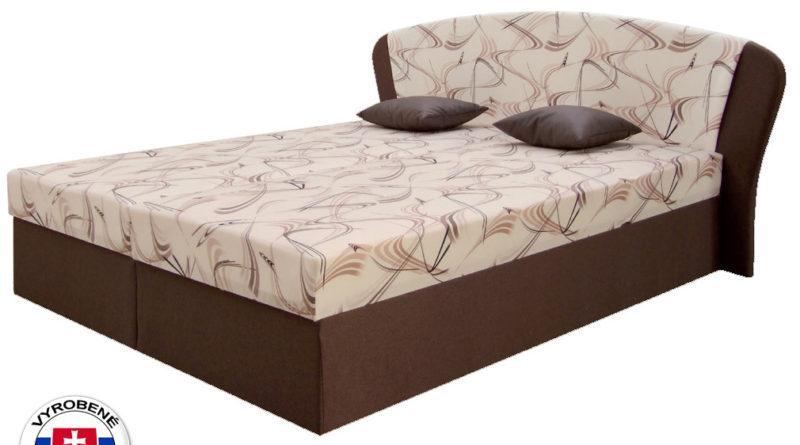 48bca0aff0899 Manželská posteľ 170 cm – Decodom – Kula (s roštom a matracom)