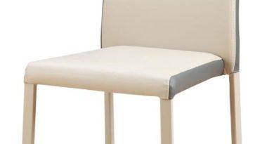 Jedálenská stolička K182 svetlobéžová + sivá