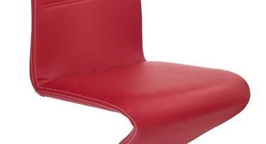 Jedálenská stolička K188 červená