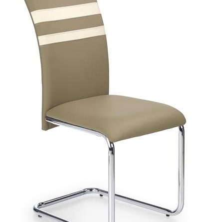 Jedálenská stolička K197 tmavobéžová