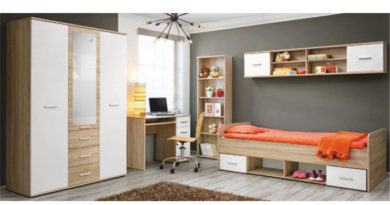 Jednolôžková posteľ 90 cm Emio Typ 04 Biela