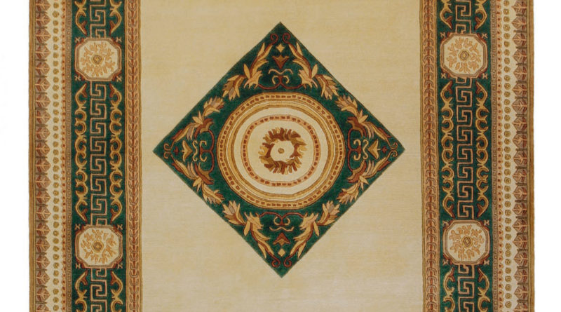 9546fc13db0e Ručne viazaný koberec – Bakero – Bakero 5006-7001 Vanilla Green